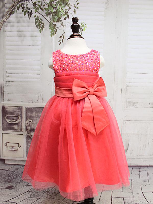01245 Платье /коралловый/