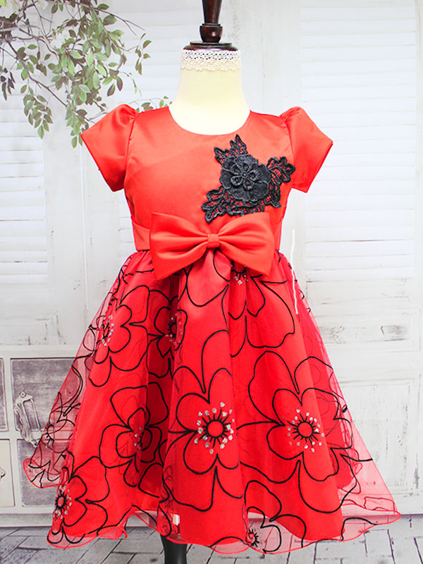 "01296 Платье""Маки"""