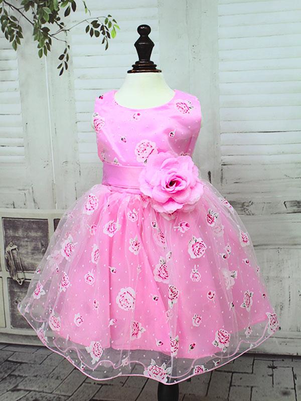 01396 Платье  мод.L-619 розовый