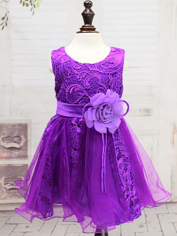 """01404 Платье """"Шитьё"""" фиолетовый"""